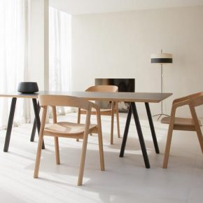 Trestle black valby natural