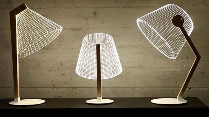 Lampes 3D bulding
