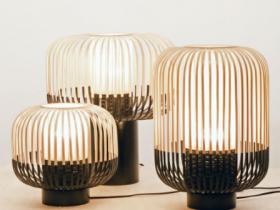 bambou lampe dinard saint malo décoration forestier