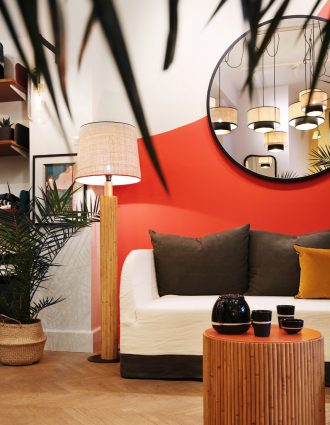 maison sarah lavoine riviera suite 13 décoration dinard saint malo rennes architecture d'intérieur cancale saint briac saint lunaire mobilier rotin
