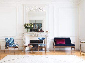 366 concept Suite 13 Dinard Saint Malo décoration architecture d'intérieur Rennes fauteuil rétro