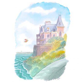 le grand saut suite 13 suite13 Dinard saint Malo Rennes décoration architecture d'intérieur cadeau illustration galerie Alfred